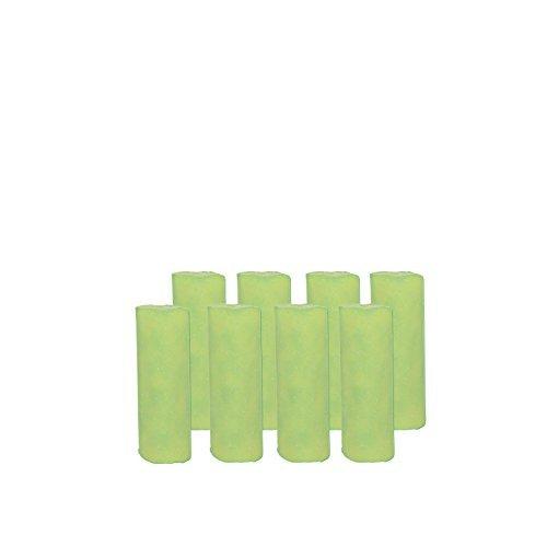Abflussfee 00761 Duftstein Nachfüllset (8 Duftsteine, Apfel-Zitrone-Geruch, grün)