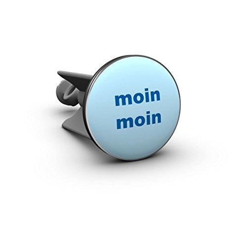 plopp MOIN MOIN Waschbeckenstöpsel H variabel // Ø 38 mm blau
