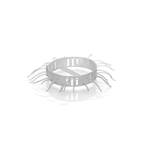 Abfluss-Fee für die Dusche NEU (Mit 4x Haarfänger und 4x Duftstein Apfel-Zitrone)